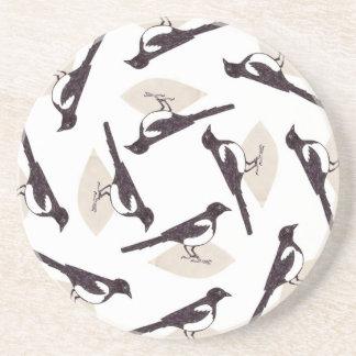 Magpies Coaster
