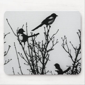 Magpies in Holland Mouse Pad