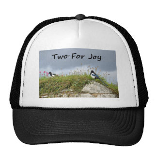 Magpies Two For Joy Trucker Hat