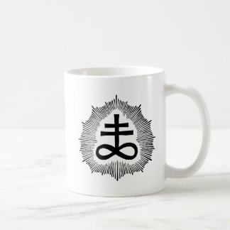 Magus Gilmore's Double Brimstone Sigil White Mug