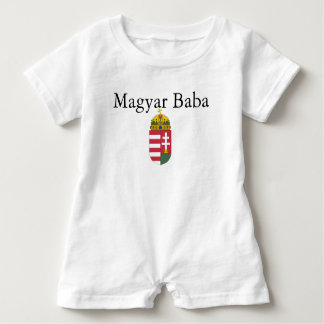 Magyar Baba w/Coat of Arms Baby Romper