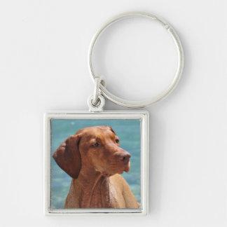Magyar Vizsla Dog Keychain