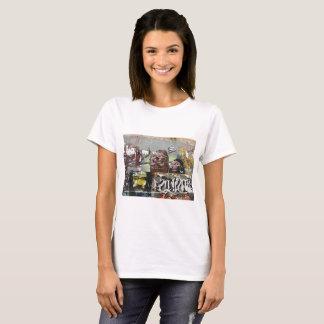 Mah coza, Graffiti,Spain Women's Basic T-Shirt