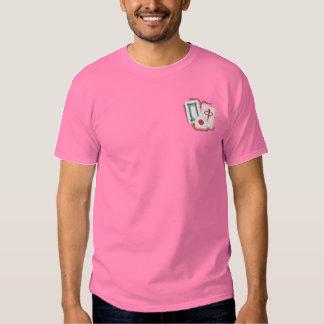 Mah Jong Embroidered T-Shirt
