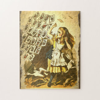 Mah Jongg Alice in Wonderland Puzzle
