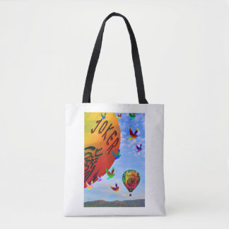Mah Jongg Balloon Tote Bag