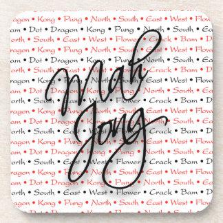 Mah Jongg Coaster Set