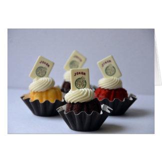 Mah Jongg Cupcakes Notecard