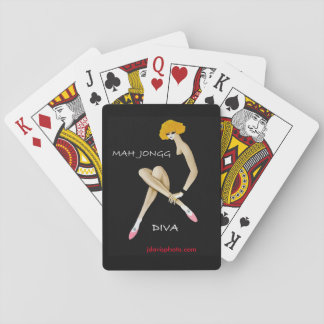 Mah Jongg Diva Playing Cards