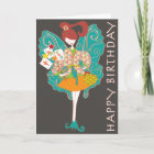 Mah Jongg Fairy Birthday Card