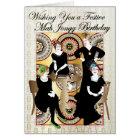 Mah Jongg Festive Birthday Card