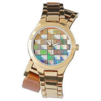 Mah Jongg Graphic Tiles Watch