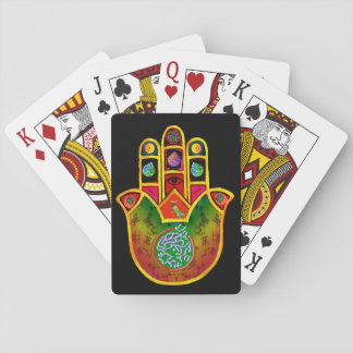 Mah Jongg Hamsa playing cards