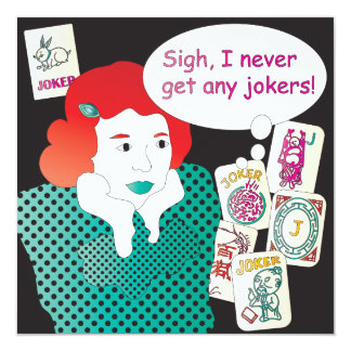 Mah Jongg Sayings Jokers2 Card