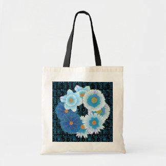 Mah Jongg Seasons Blues Bag