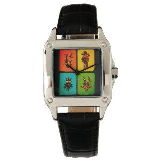Mah Jongg Vintage Tiles Watch