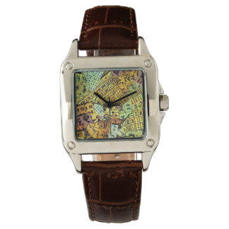 Mah Jongg Vintage Tiles Watch