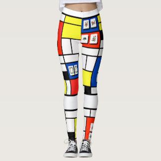 Mah Jonng-Mondrian Leggings