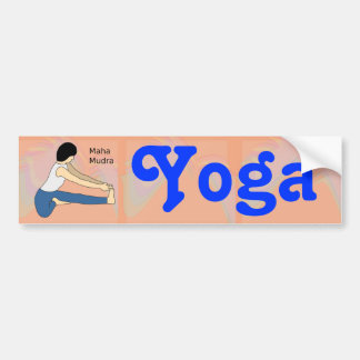 Maha_Mudra Yoga bumper sticker