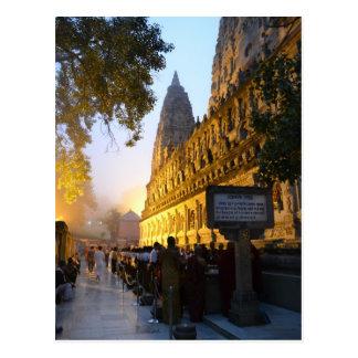 Mahabodhi Buddhist Temple Bodh Gaya India Postcard