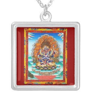 Mahakala Silver Plated Necklace