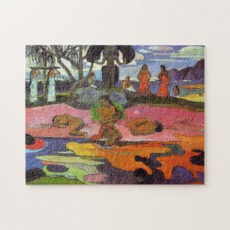 'Mahana No Atua' - Paul Gauguin Jigsaw Puzzle