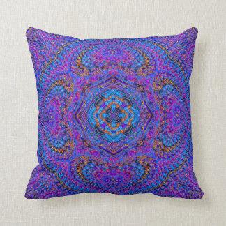 """Maharani"" Indian-Mandala-style pillow"