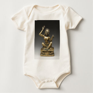 Mahasiddha, the Flower King Baby Bodysuit