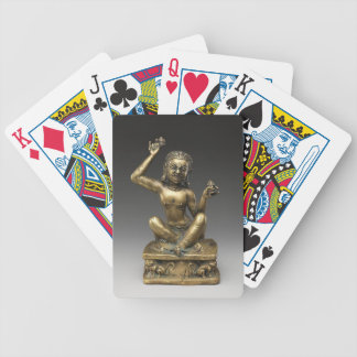 Mahasiddha, the Flower King Bicycle Playing Cards