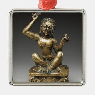 Mahasiddha, the Flower King Metal Ornament