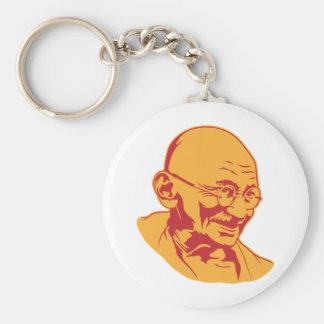 Mahatma Gandhi Portrait Keychain