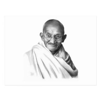 Mahatma Gandhi Postcard