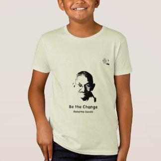 Mahatma Gandhi T-Shirt - kids organic