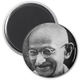 Mahatma Ghandi Portrait Photograph Magnet
