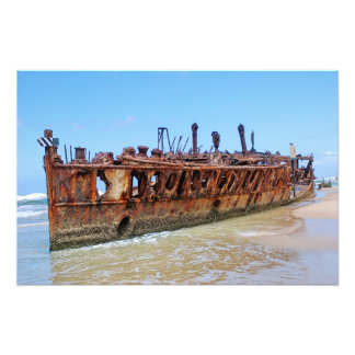 Maheno Shipwreck Art Photo