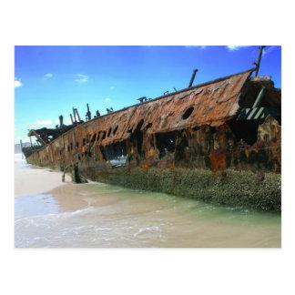 Maheno Shipwreck Postcard