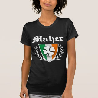 Maher Shamrock Crest T-Shirt