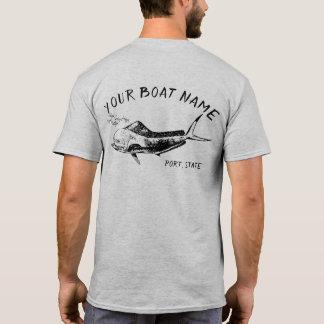 Mahi Boat Name Shirt