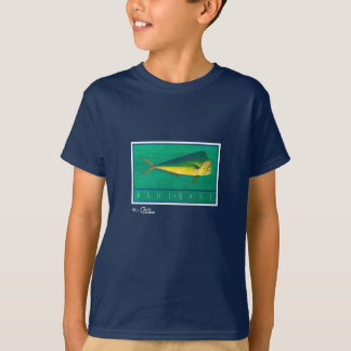 Mahi-Mahi Children's Dark Apparel T-Shirt