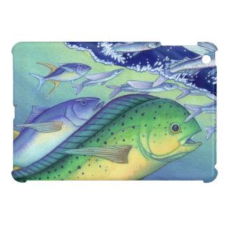 Mahi Mahi (Dolphin Fish) chasing Flying Fish Case For The iPad Mini