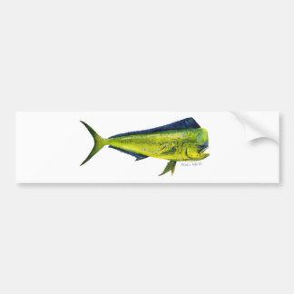 Mahi Mahi fish bumper sticker