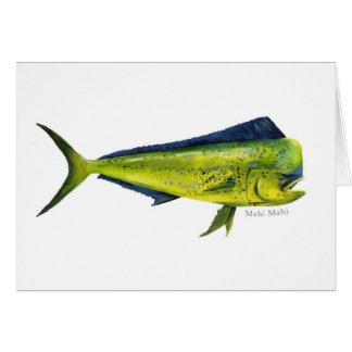 Mahi Mahi fish card