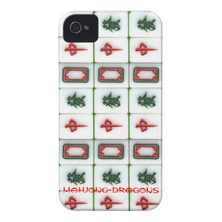 Mahjong-dragons iPhone 4 Covers