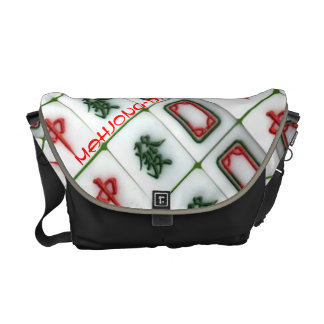 Mahjong-dragons Messenger Bags