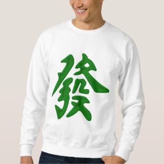 Mahjong Green Dragon Sweatshirt