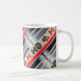 Mahjong monogrammed coffee mug
