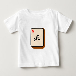 Mahjong North Baby T-Shirt