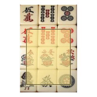 Mahjong Personalized Stationery