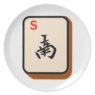 Mahjong South Plate