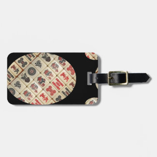 Mahjong tiles bag tag
